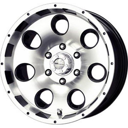 15 Black MB Razor Wheels Rims 5x127 5 Lug Chevy GMC C1500 Jeep