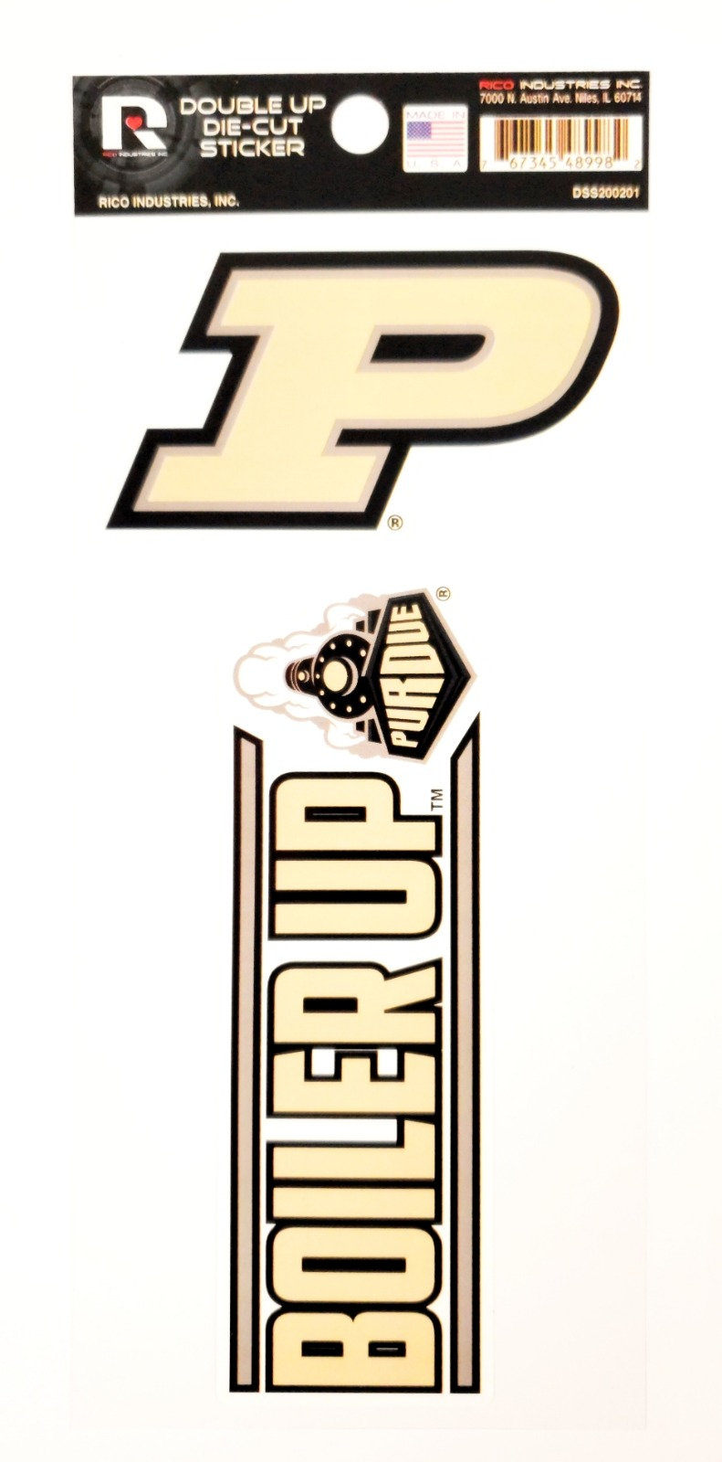 RICO INDUSTRIES NCAA Purdue Boilermakers Car Flag