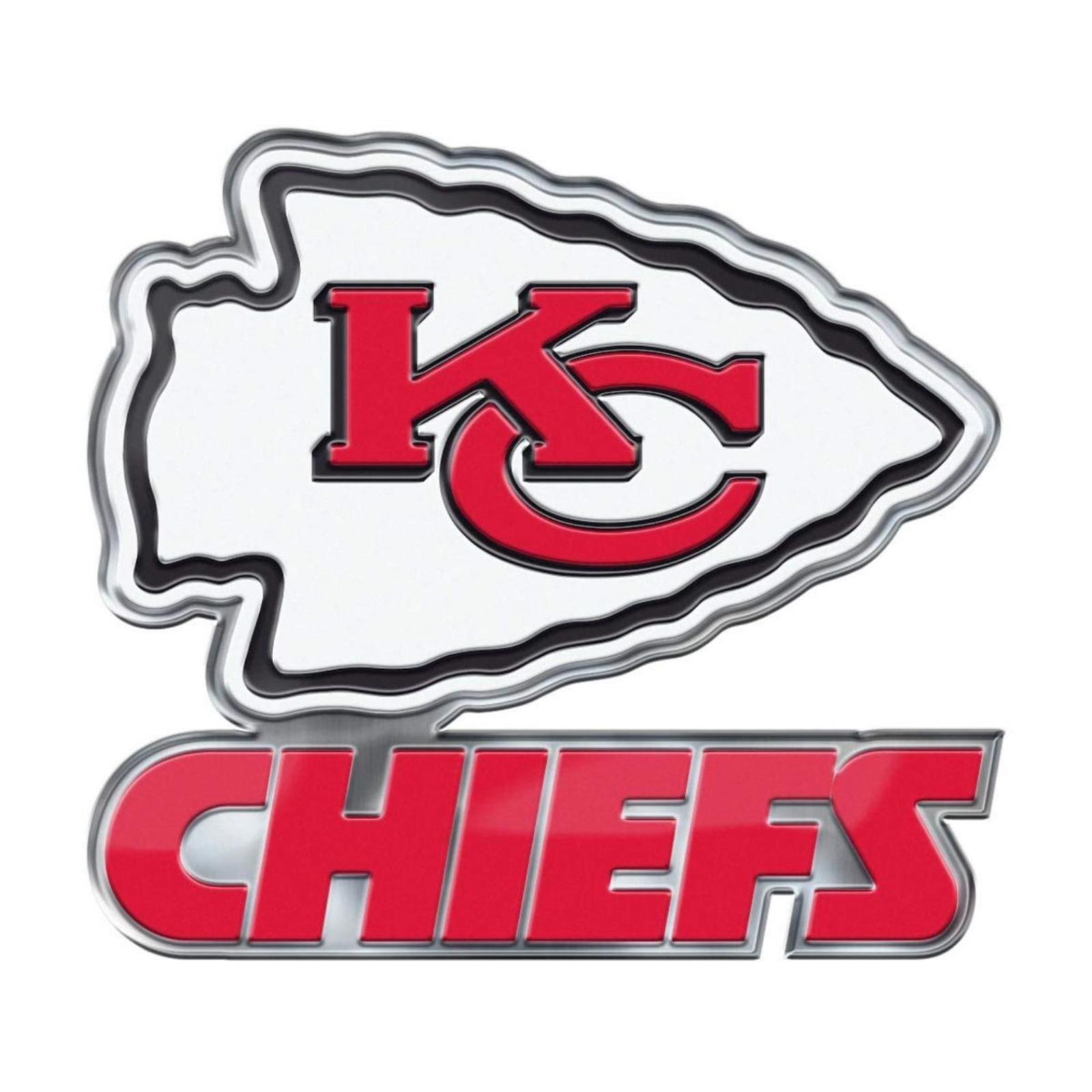 Kansas City Chiefs CE4 Alternate Logo Color Auto Emblem