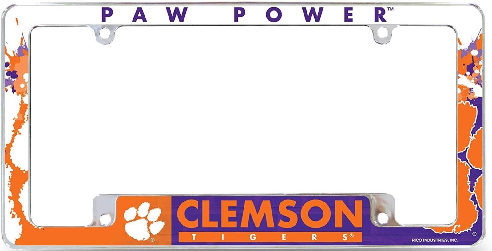 WinCraft NCAA Clemson University Metal License Plate Frame