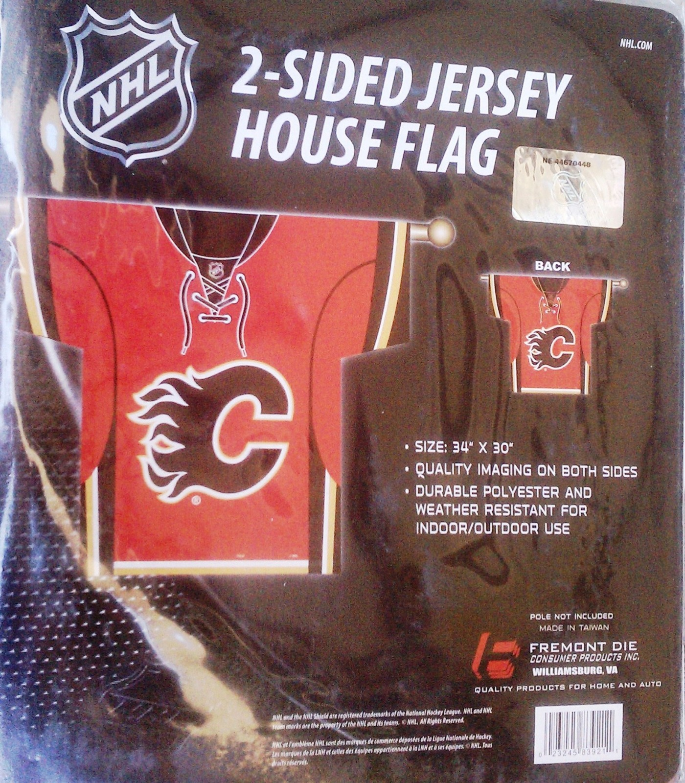 Calgary Flames Premium 2 Sided Jersey Style Banner Outdoor House Flag Nhl Hockey 719104574613 Ebay