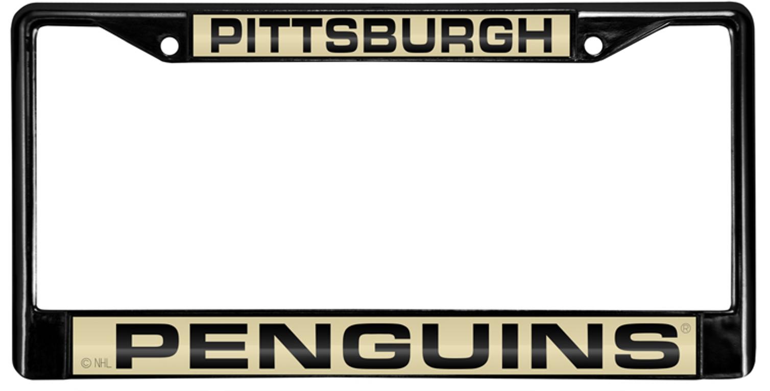 Colorful Pittsburgh Penguins License Plate Frame Mold - Framed Art ...