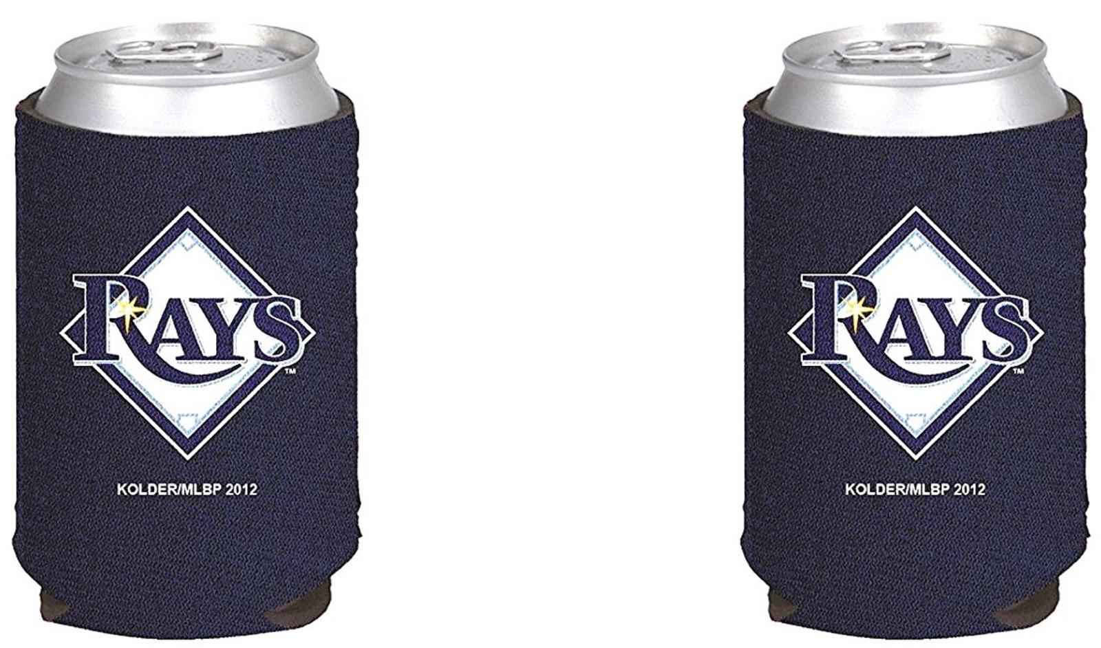 Tampa Bay Rays 2-Pack CAN Beverage Insulator Neoprene Holder