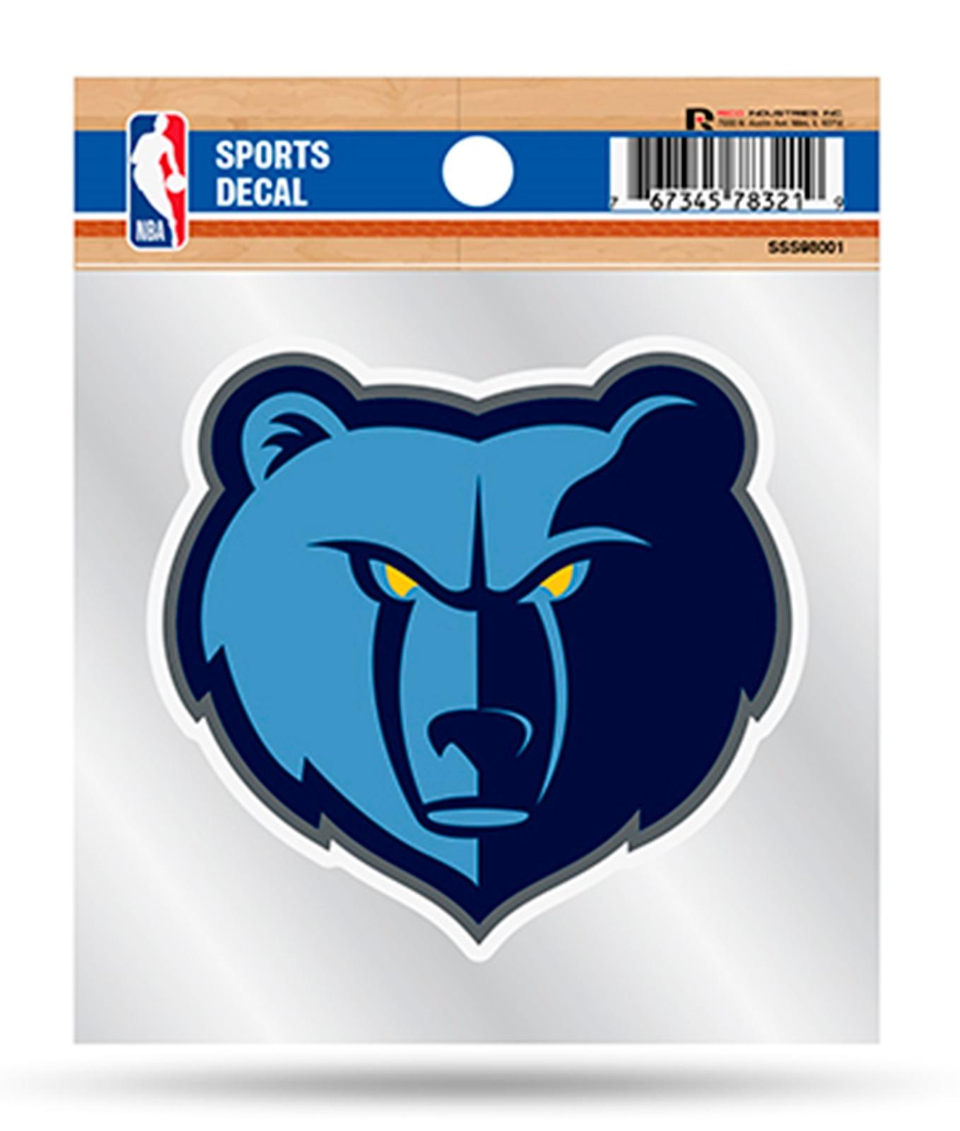hotprint Grizzlies Basketball Memphis Sport Logo Car Bumper Sticker Decal 5 X 4