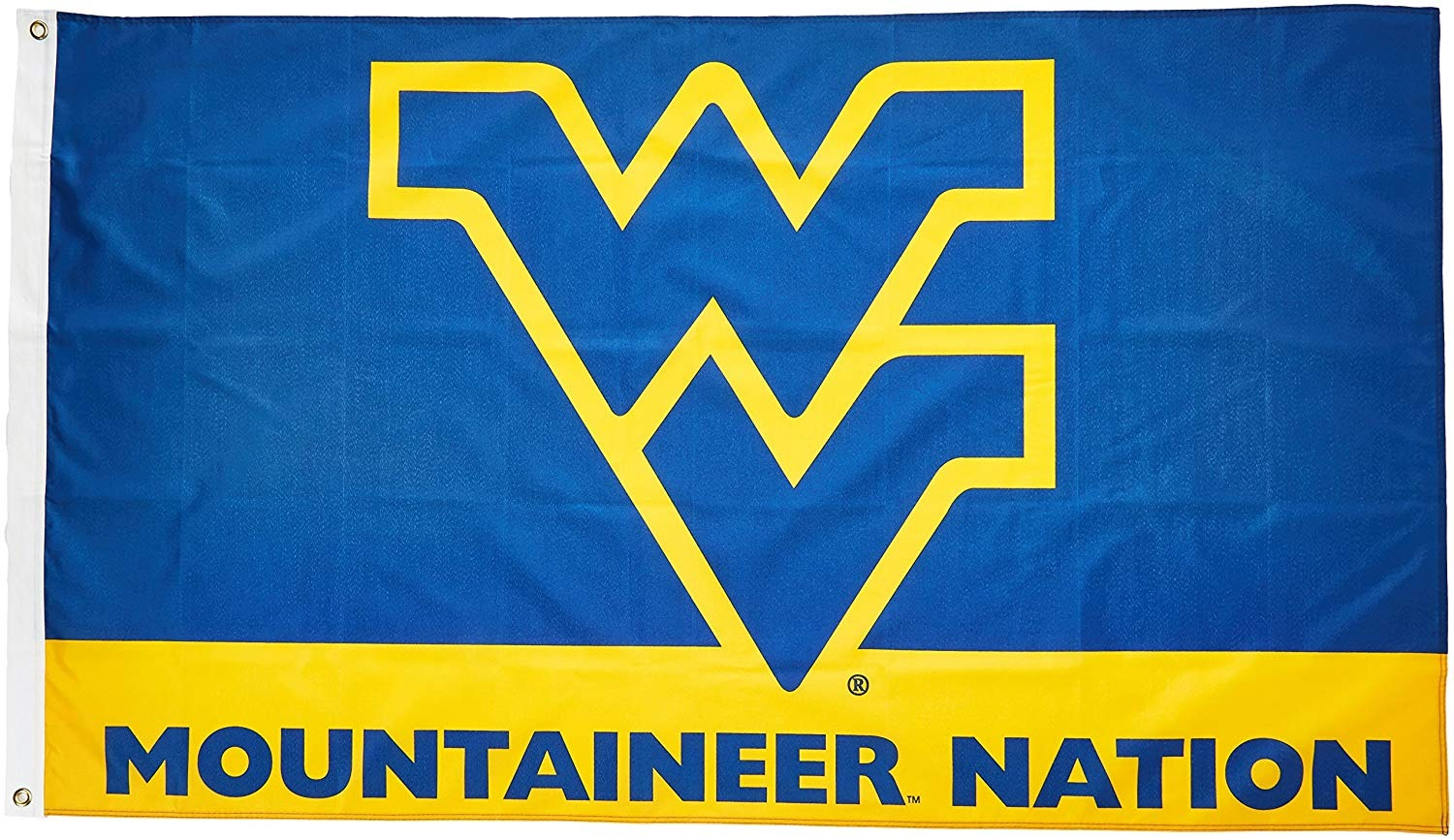 Details about West Virginia Mountaineers NATION 3x5 Flag BSI 95112 Outdoor  Banner University
