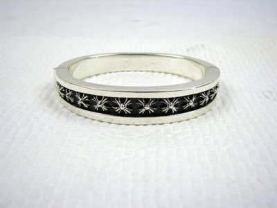 c3e891a18a53 Chrome Hearts 1997 Sterling Silver Cuff Bangle Bracelet .925 Silver ...