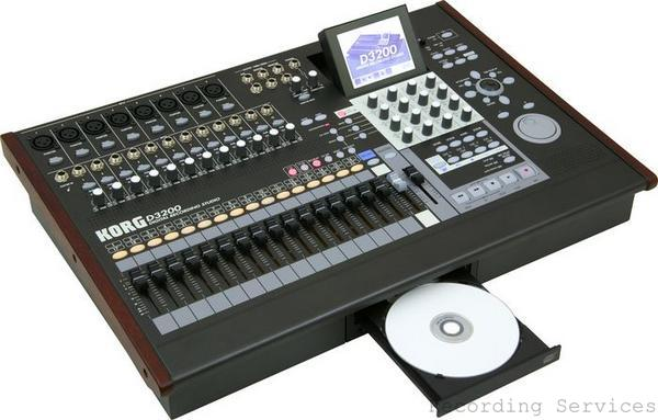 korg d3200 digital multi track recorder ebay. Black Bedroom Furniture Sets. Home Design Ideas