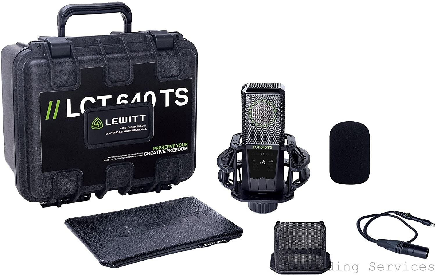 """Lewitt LCT 640 TS """"Twin System"""" Dual-Output Large"""