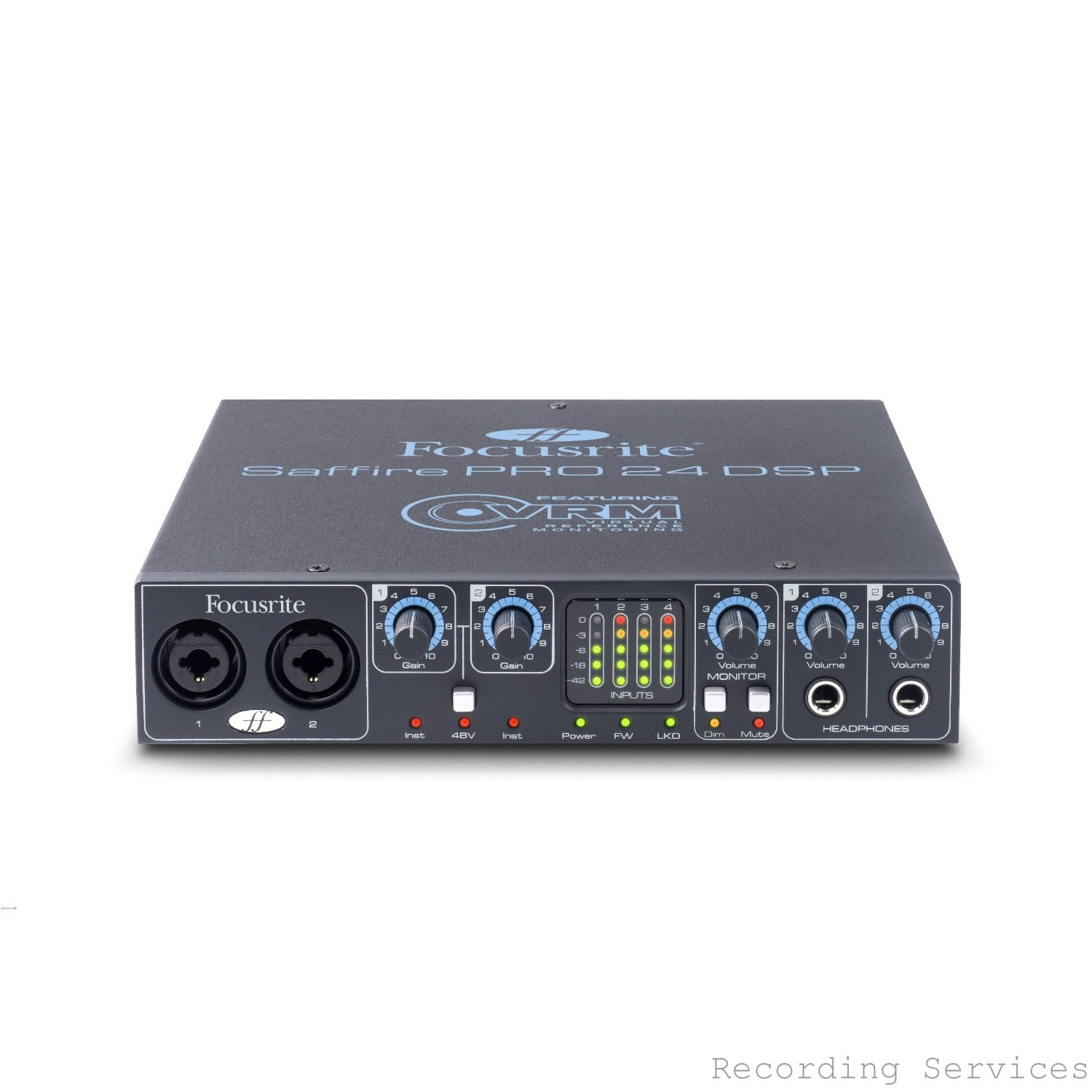focusrite saffire pro 24 dsp firewire audio interface factory refurbished recordingservices. Black Bedroom Furniture Sets. Home Design Ideas