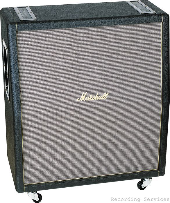 "Marshall 1960TV 4x12"" 100 Watt Angled Extension Ca"