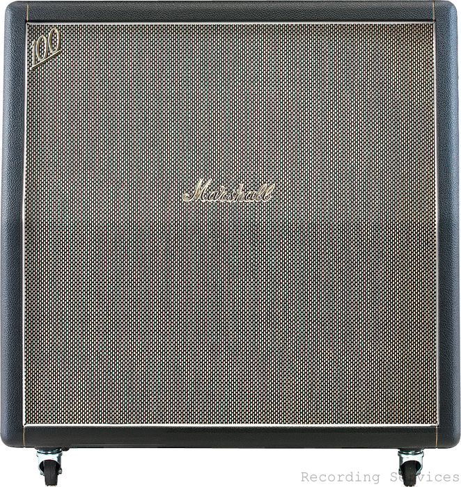 Marshall 1960AHW  120W 4x12 Guitar Extension Cabin