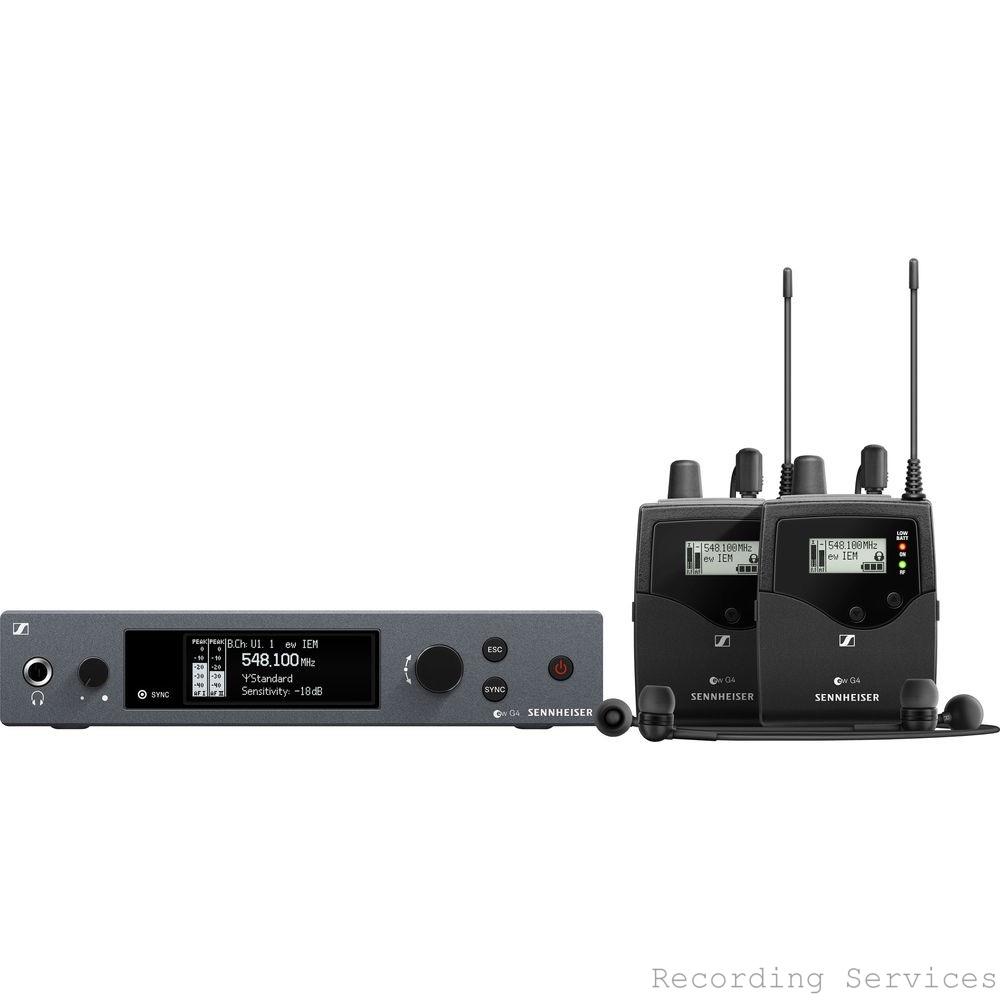 Sennheiser ew IEM G4 Twin Wireless Stereo Monitori