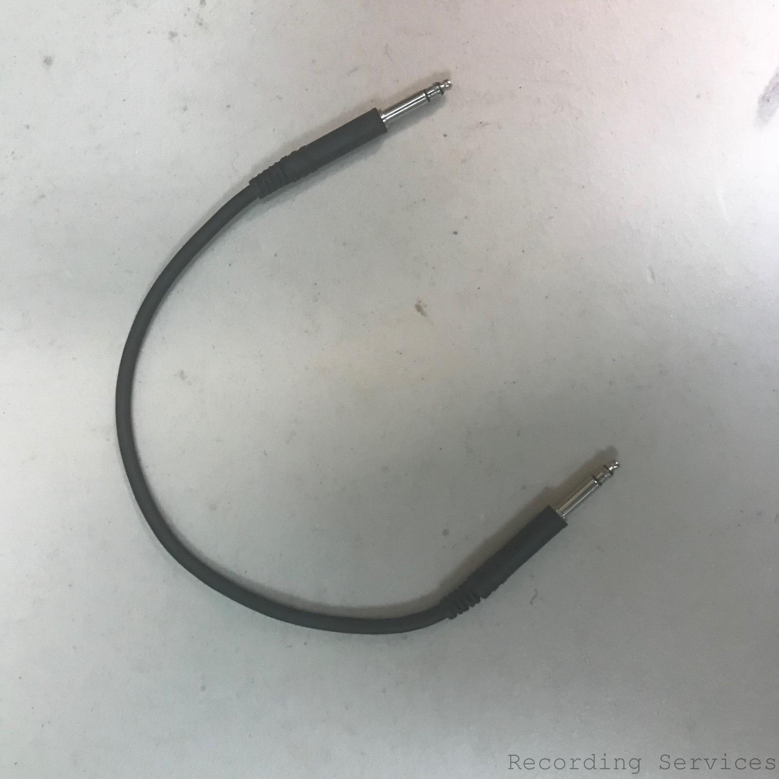 """Neutrik Patch Black Cable with NP3TT-1 Plugs 28"""""""