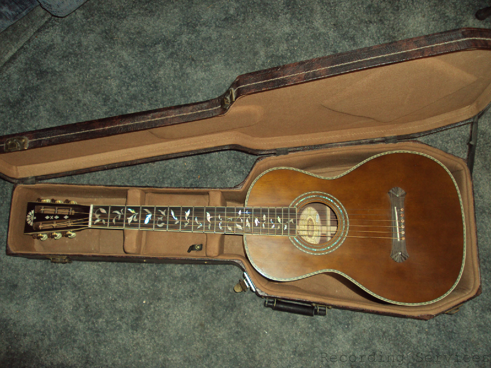Washburn Vintage Series R320swrk Acoustic Guitar Factory