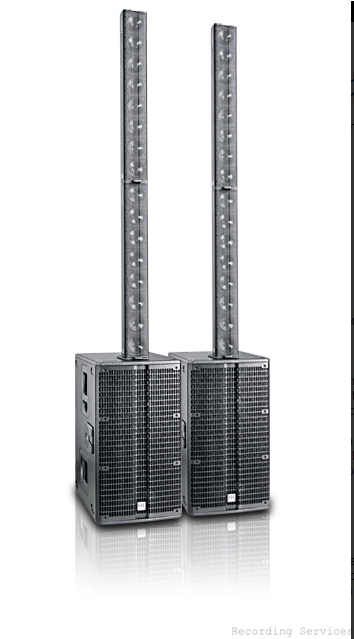HK Audio Acoustic Four Plus Line Array PA System 4