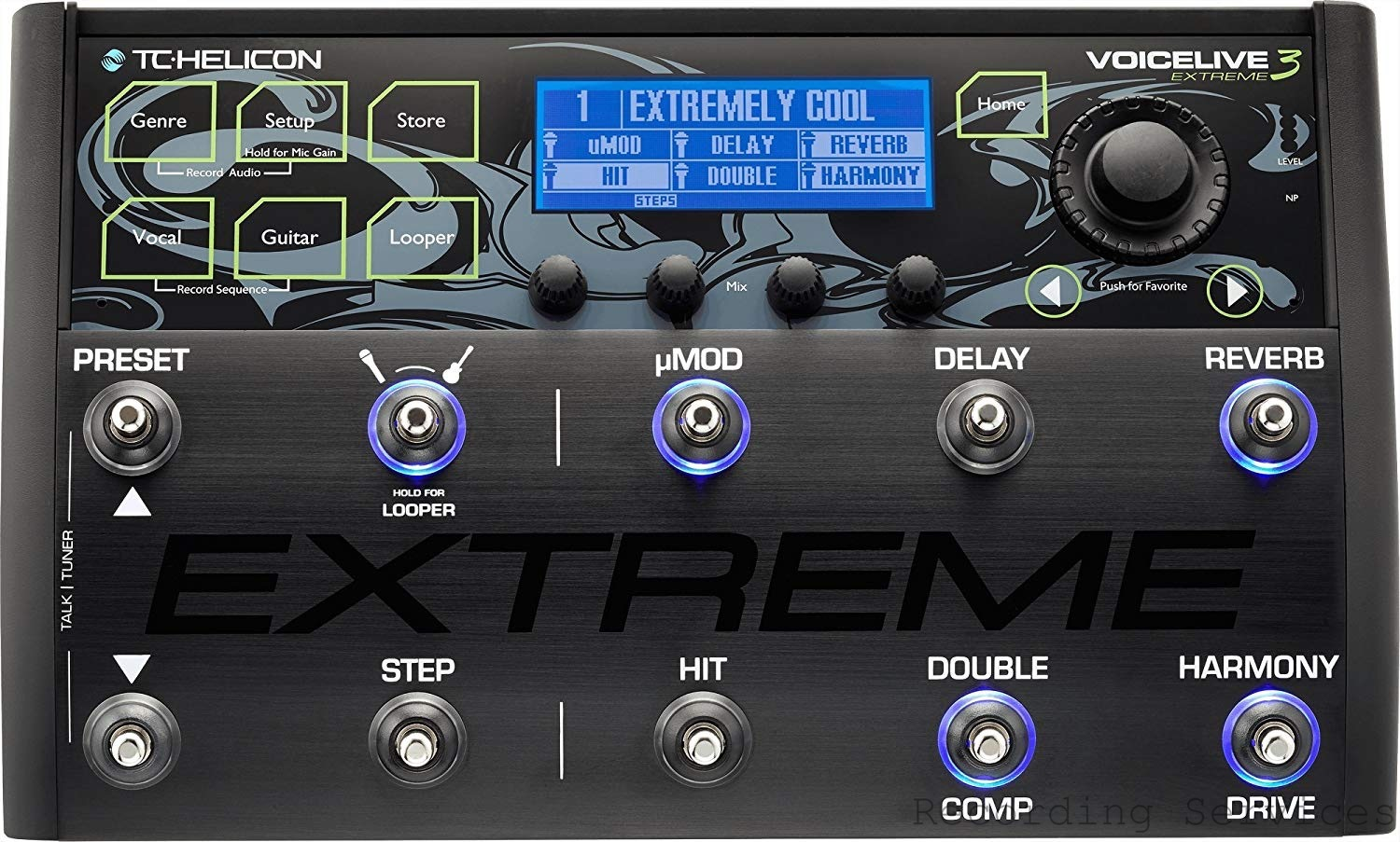 TC Helicon VoiceLive 3 Extreme Vocal Effects Proce