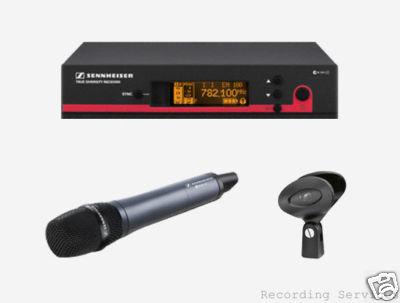 Sennheiser ew135G3 Handheld 835 Wireless Mic Syste