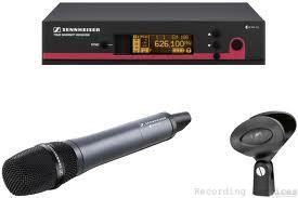 Sennheiser ew165G3 Handheld Wireless Microphone Sy