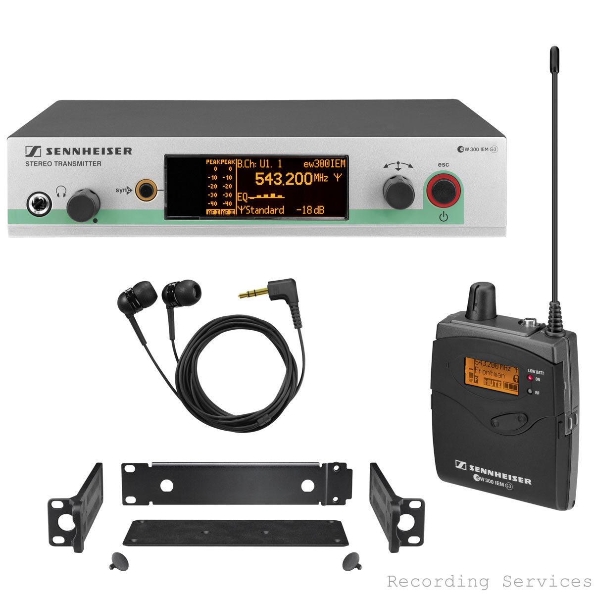 Sennheiser ew 300 IEM G3 In-Ear Wireless Monitor S