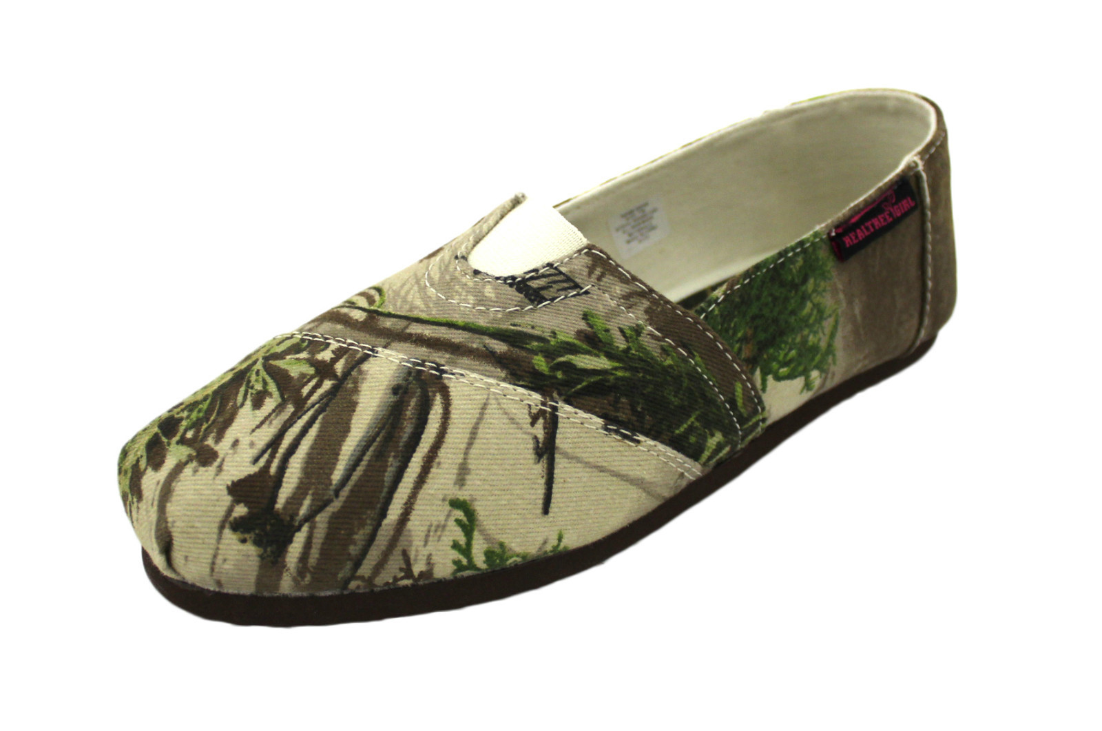 REALTREE Camo Canvas Twill Women's Slip on Camouflage