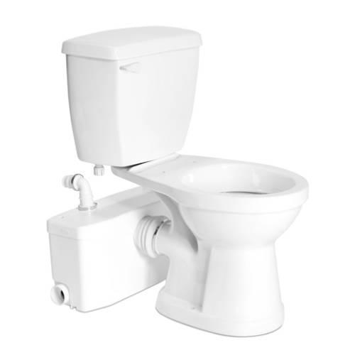 Upflush Toilets : Full Bathroom: SaniBEST Pro