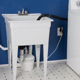 Saniflo Depot Upflush Toilets Saniflo Saniswift Gray