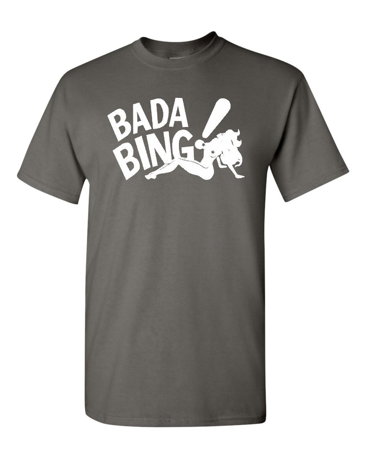 Bada Bing Sopranos Jersey Mafia Stripper Tony Mens Tee Shirt 1819
