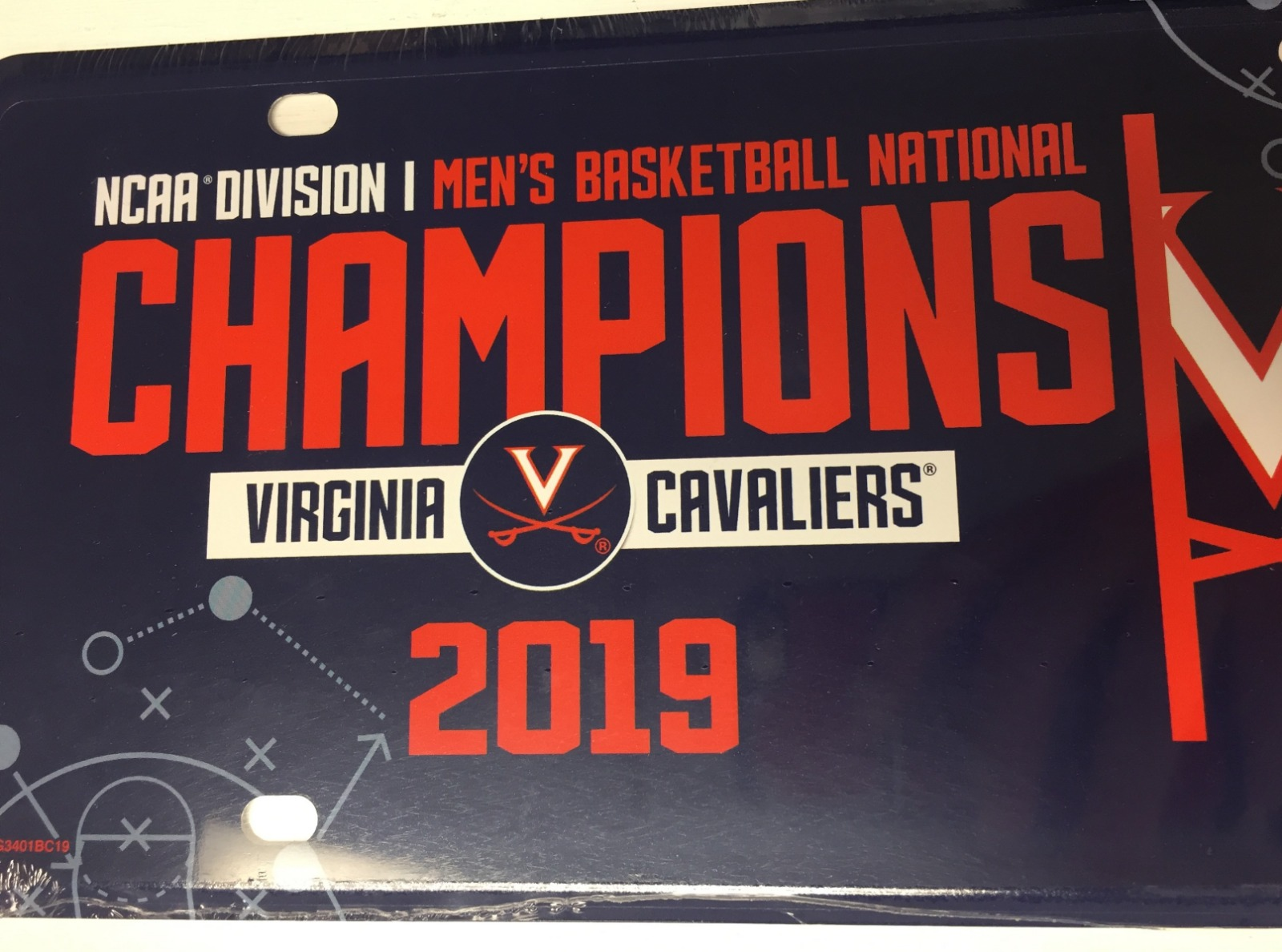 Vehicle Parts & Accessories NCAA Aluminum License Plate Virginia Cavaliers NEW