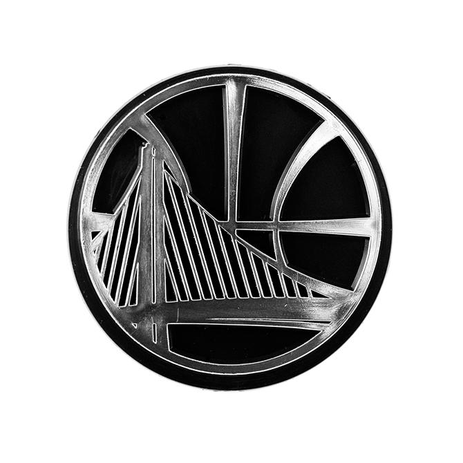 d602dcfde7f Details about Golden State Warriors Logo 3D Chrome Auto Decal Sticker NEW!!  Truck or Car!
