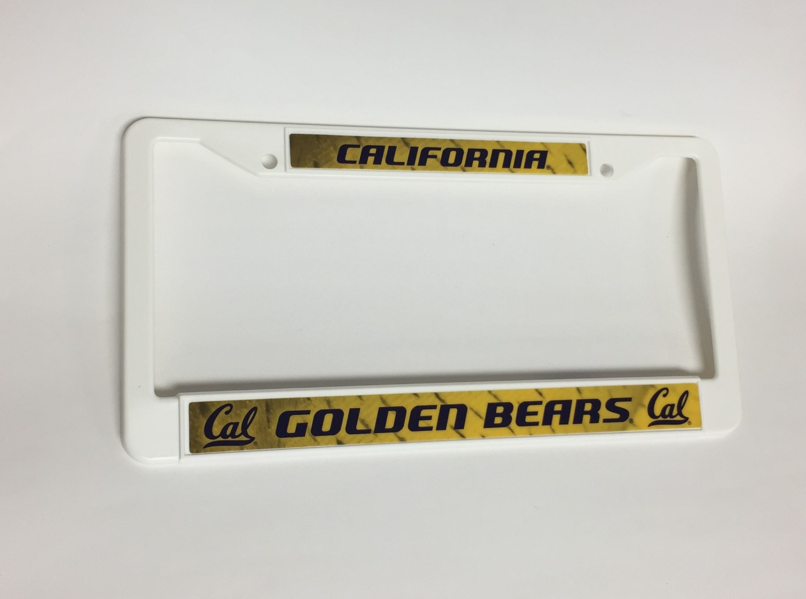 CAL Golden Bears License Plate Cover Frame NEW!! NCAA Free Shipping ...