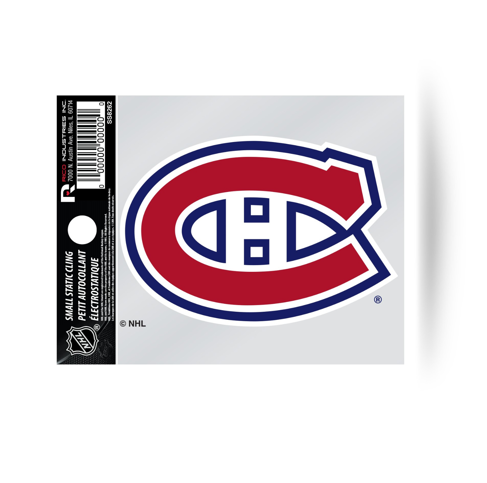 Montreal Canadiens Logo Static Cling Decal Sticker 3x4 Inches Window Or Car 94746012113 Ebay