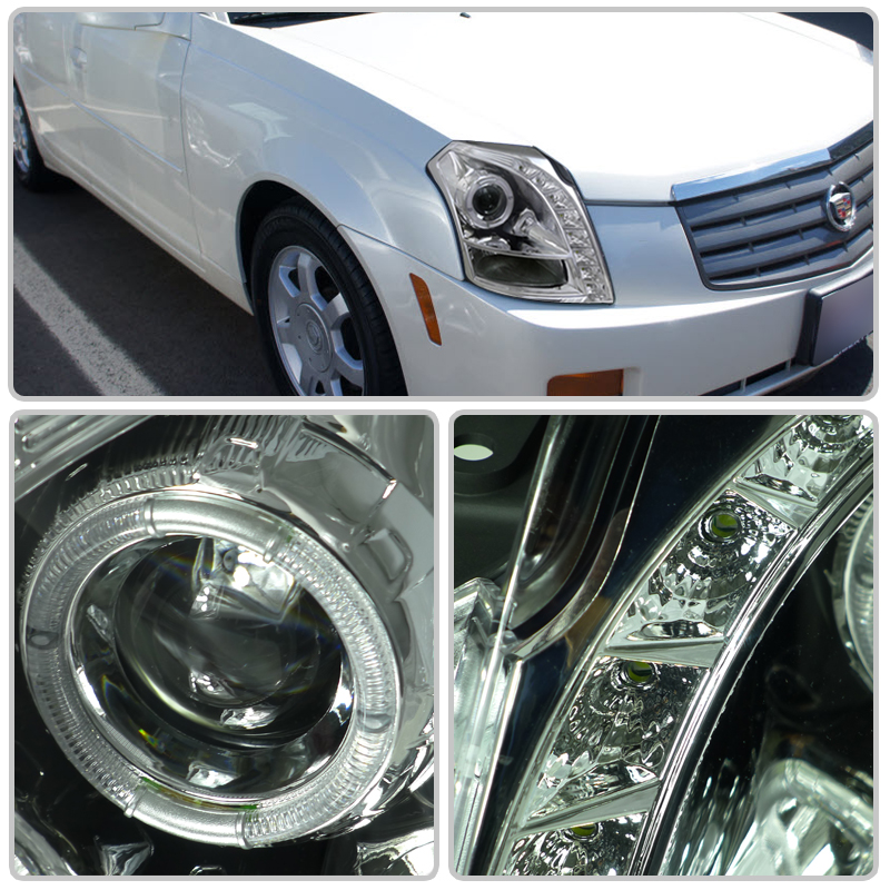 2003 2007 Cadillac Cts Chrome Quot Brightest 16x Led Halo