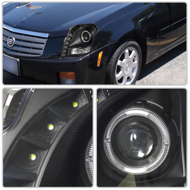 03-07 CADILLAC CTS [BRIGHTEST LED] ANGEL EYE PROJECTOR