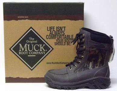 Muck Boots Men&amp039s Uplander Waterproof Hunting Boot Mossy Oak