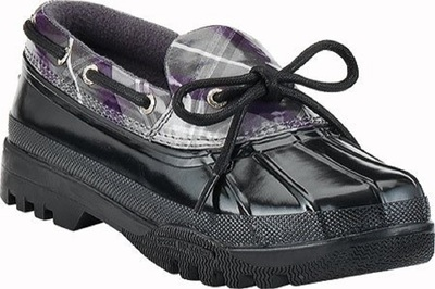 Sperry Top-Sider Hingham | Women's Stylish Rain Boot (Black