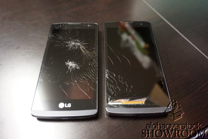 2 Used & Untested - LG Leon 4G (H345 Titanium) For