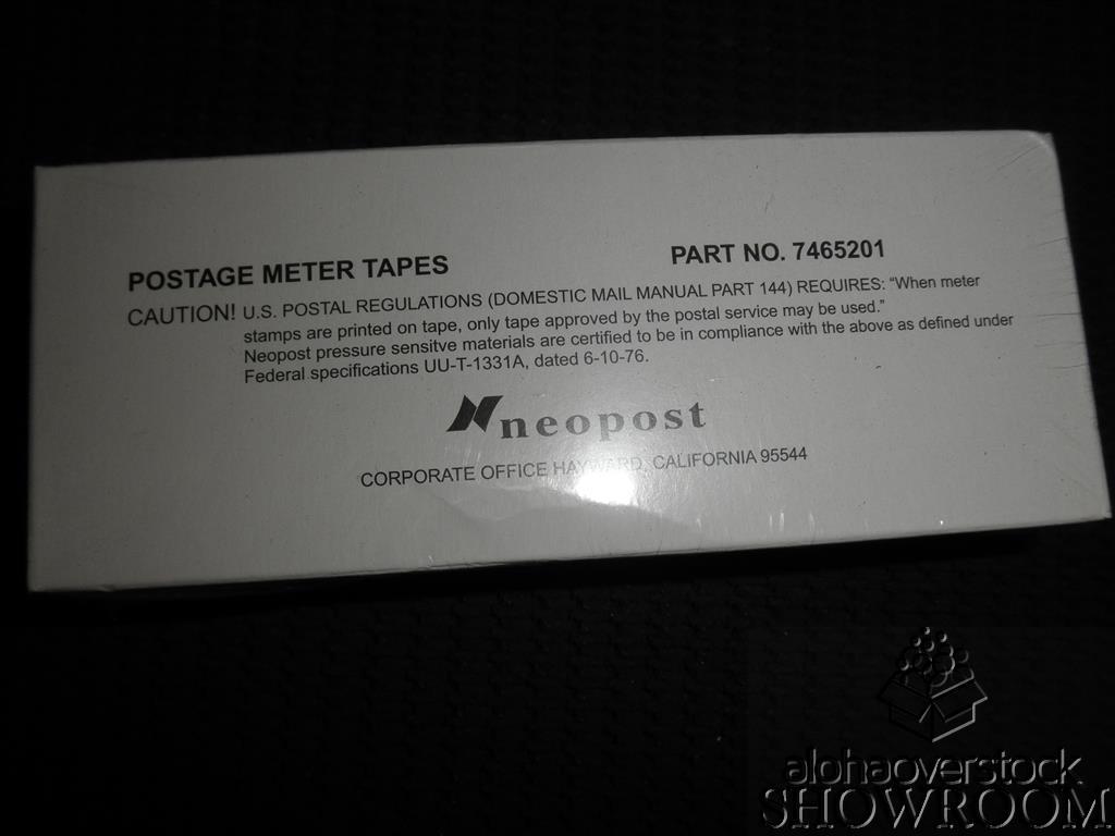 New Sealed Box Genuine Neopost Postage Label 300pc