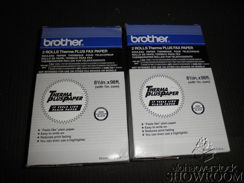 New Open Box Genuine OEM Brother 6890 Thermal Fax