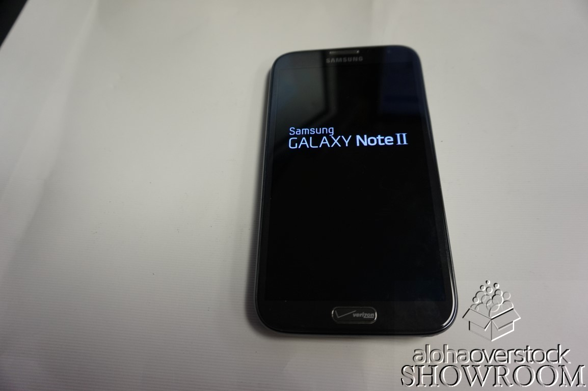Details about Used Verizon Samsung Galaxy Note II Android phablet  smartphone parts or repair