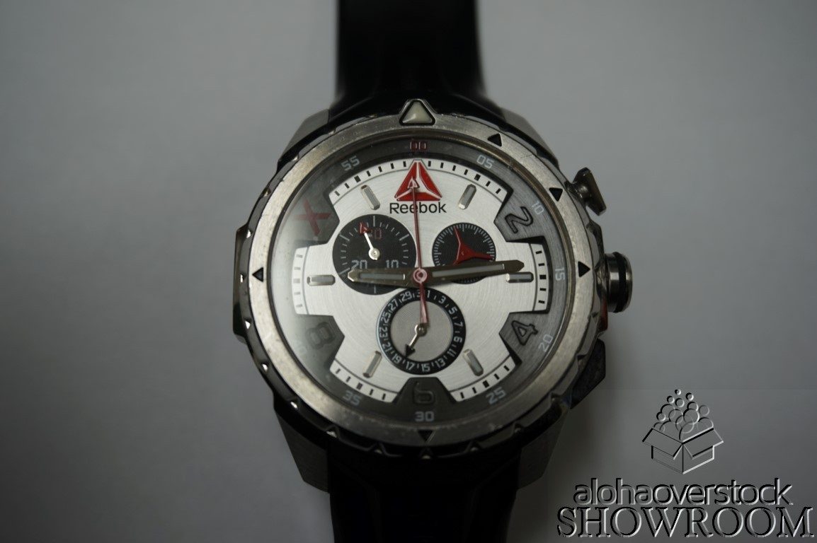 Used Watch - Reebok RD-IMP-G6-S1IB-1B Black Mens W