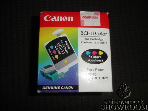 New Genuine OEM Canon BCI-11 Color Inkjets