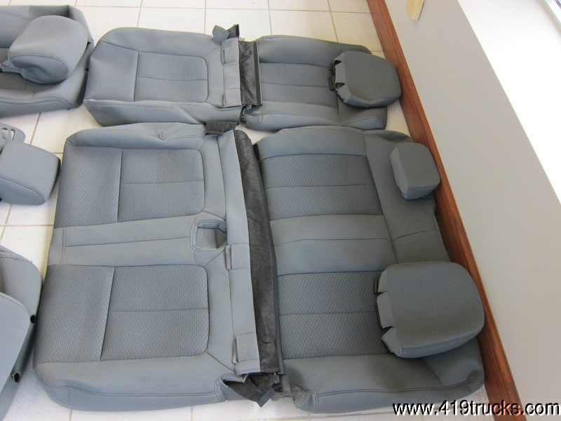 2013 ford f150 xlt 4 door supercrew gray cloth seat covers - 2013 ford f 150 interior accessories ...