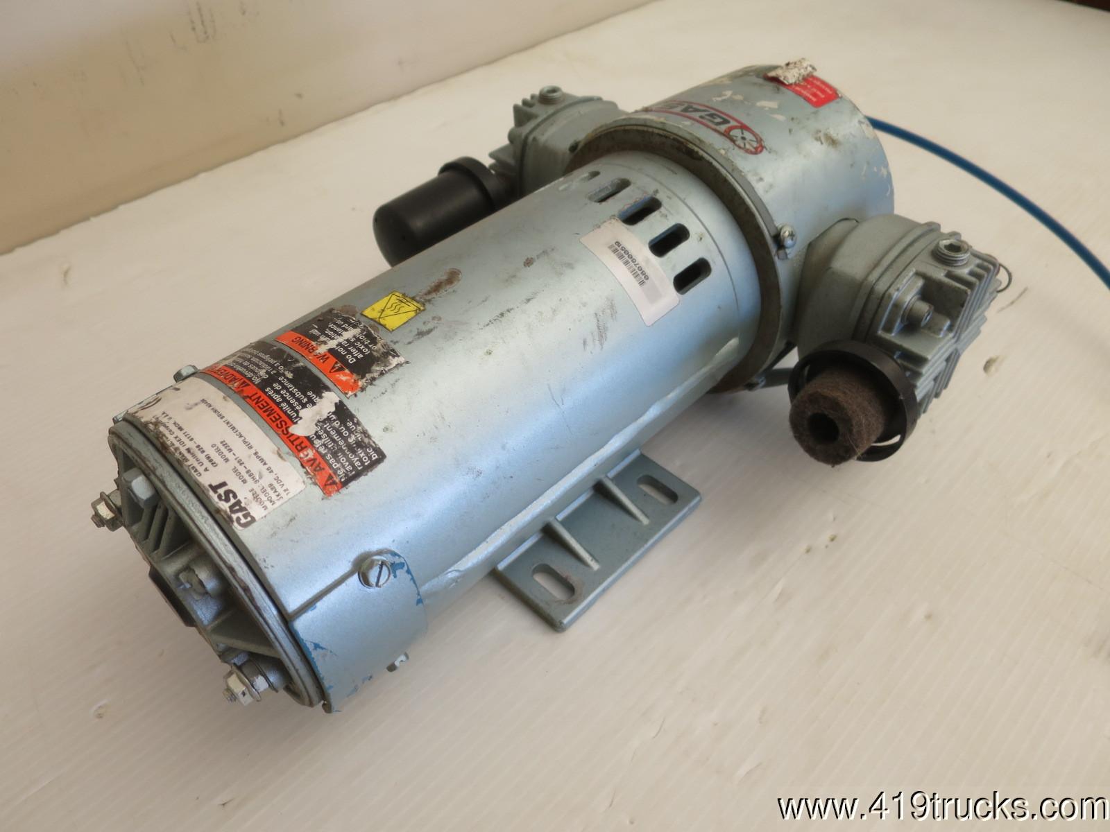 Used Gast Air Compressor 1 3 Hp 12 Volts Dc 3hbb 251 M322 Kenlugibihlauto