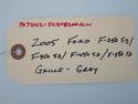 2005 FORD F250 F350 F450 F550 F 250 350 450 550 GR