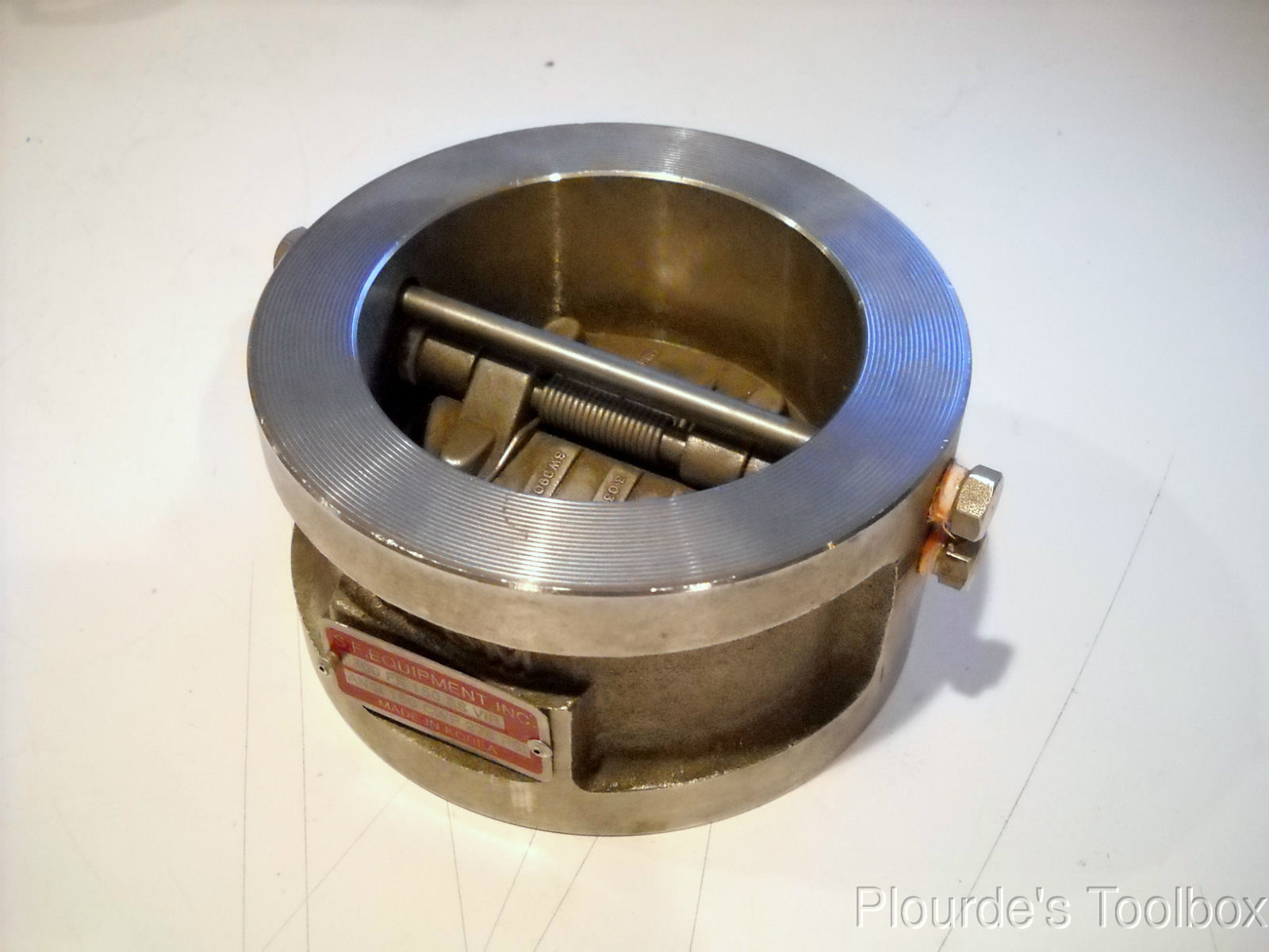 New quot sure flow equipment fe series stainless steel check