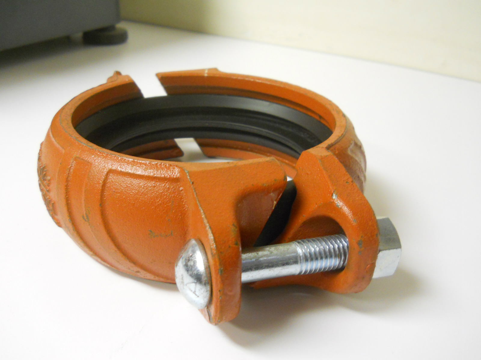 Used quot victaulic quickvic style h rigid ductile iron