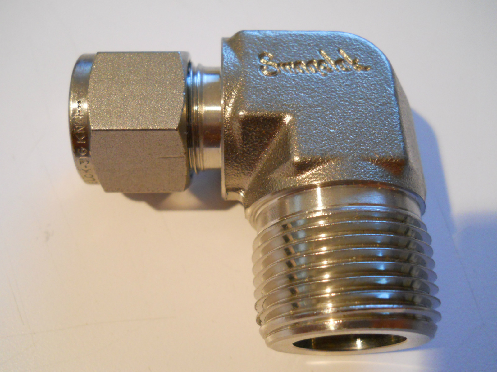 New swagelok stainless steel quot npt to tube