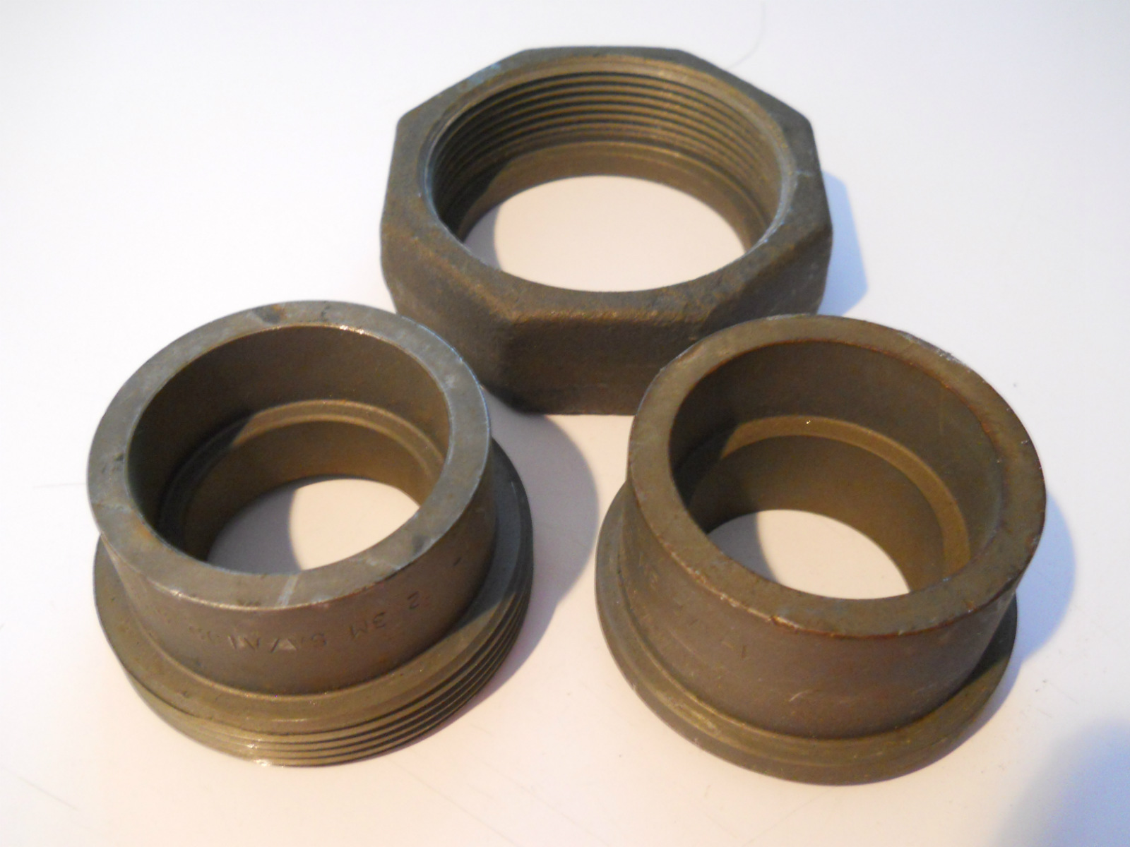 New quot penn forged steel socket weld union pipe