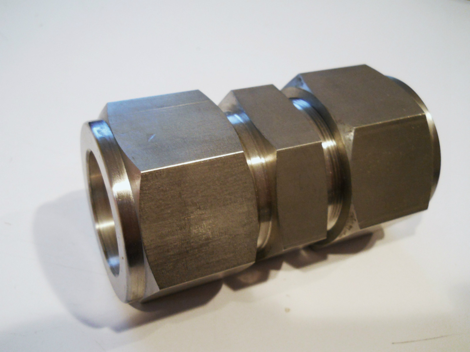 New quot swagelok stainless union tube coupling bronze
