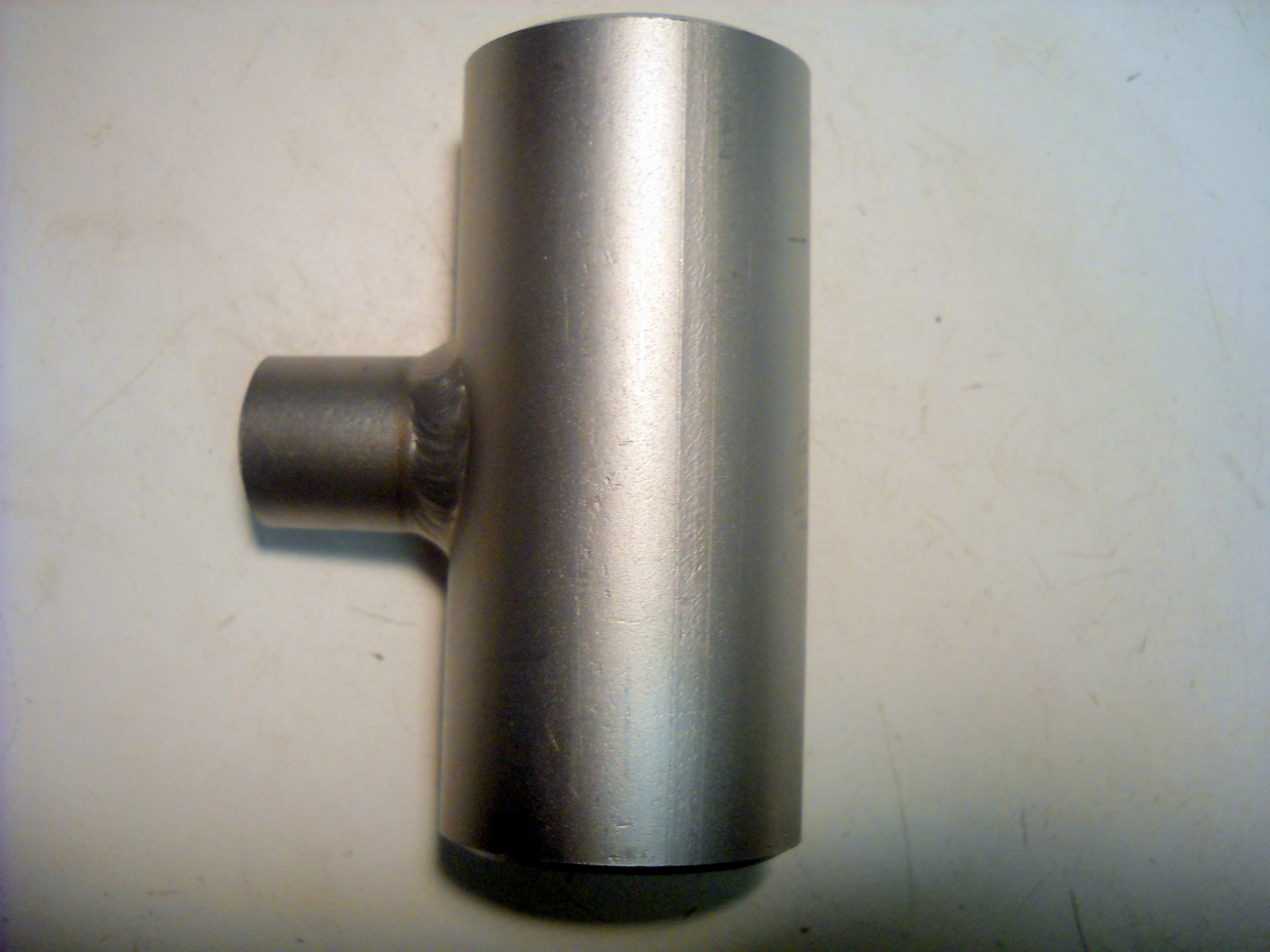 New quot stainless steel butt weld reducing tee pipe
